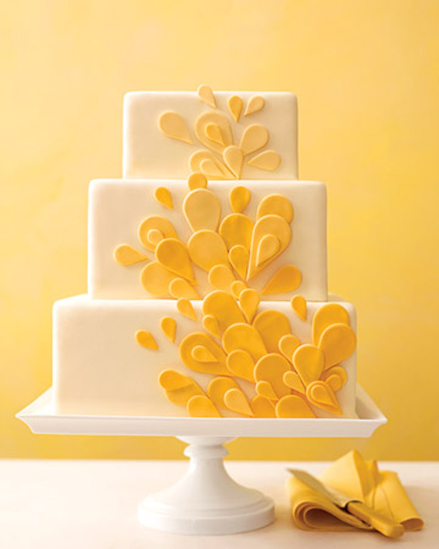 Story of a Cake: Orange Ombre Petals | Talk Sweet To Me!