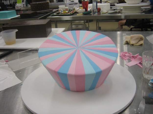 Finished madhatter stripes - Talk Sweet To Me