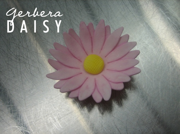 Gerbera daisy sugar flower - Talk Sweet To Me