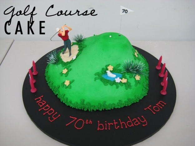 Golf Course Cake | Talk Sweet To Me