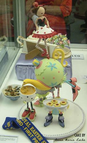 Anna Maria Easter Show Cake
