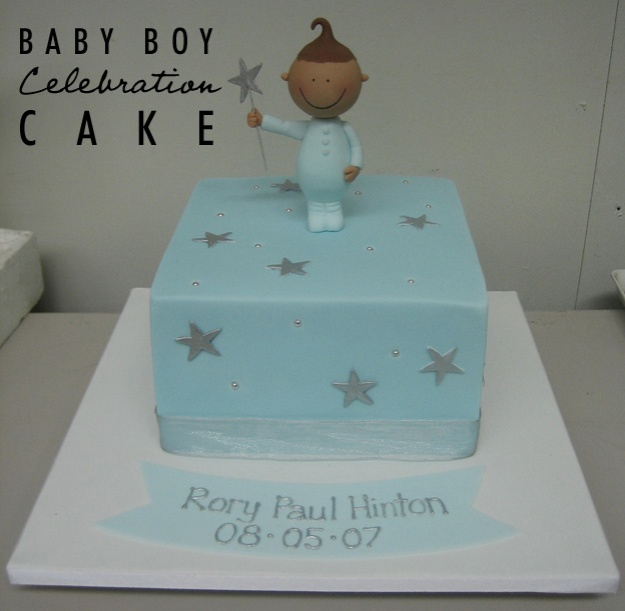 Baby boy cake - Talk Sweet to Me