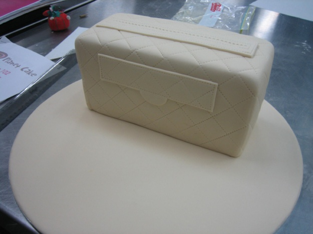 Chanel cake covered - Talk Sweet to Me