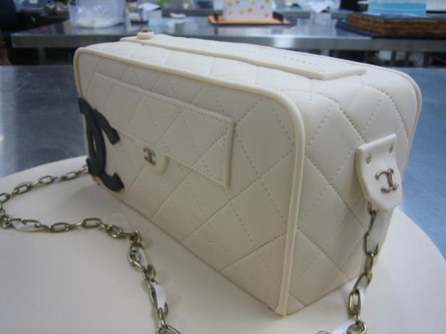 Chanel cake detail - Talk Sweet to Me