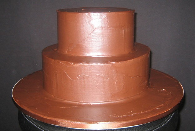 Ganache finish cake - Talk Sweet to Me