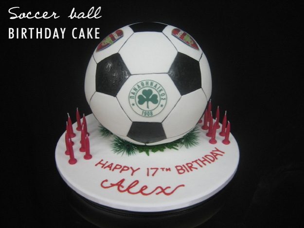 Soccer ball cake - Talk Sweet to Me