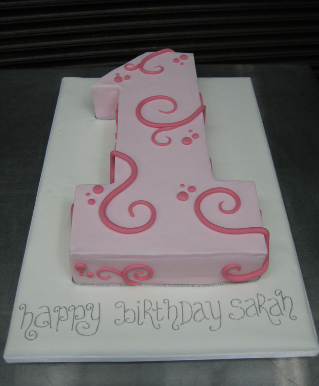 1st Birthday Cake - Talk Sweet to Me