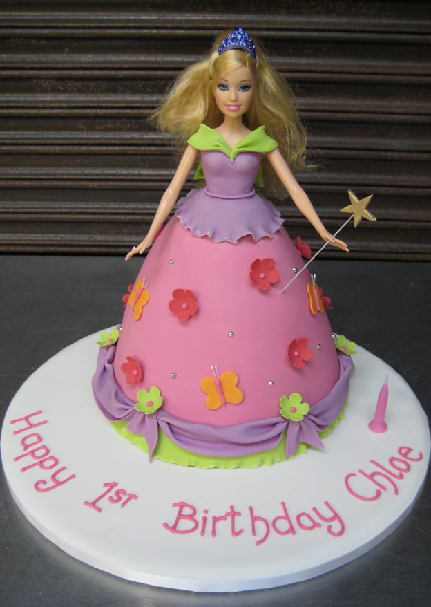 Doll dress cake - Talk Sweet to Me