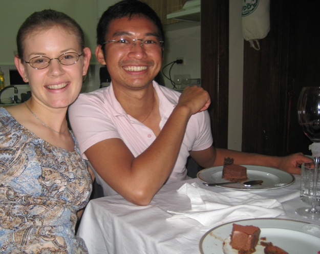 Lisa and Handi dessert - Talk Sweet to Me