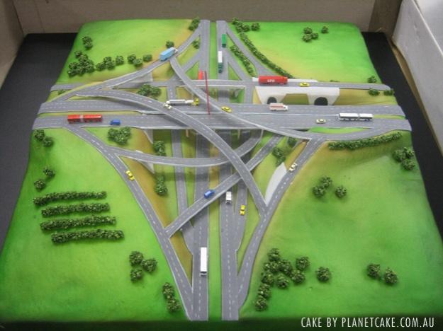 Margies transportation cake