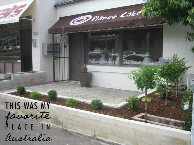 Planet Cake shop front - Talk Sweet to Me
