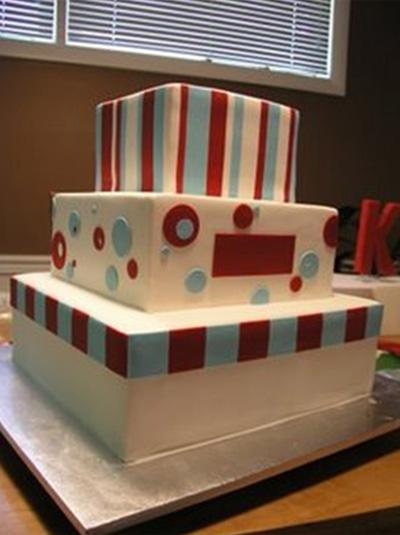 Cake in progress - Talk Sweet to Me