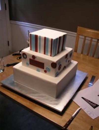 Cake in progress2 - Talk Sweet to Me