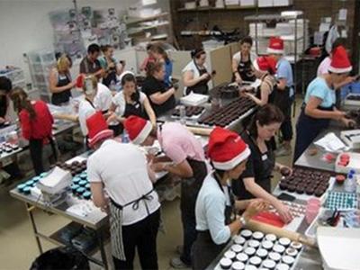 Cupcake production