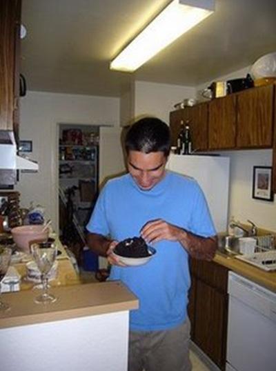 Edding testing cake