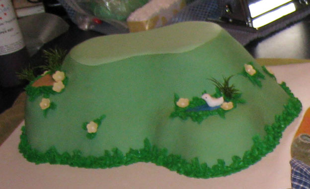 A Golf Themed Birthday Cake Talk Sweet To Me