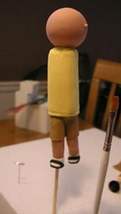 Man figurine - Talk Sweet to Me