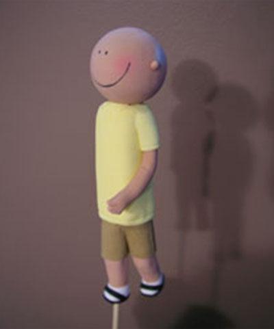 Man walking figurine - Talk Sweet to Me